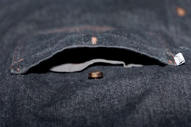 Carhartt 102257 Mens Rugged Flex Patten Denim Work Casual Shirt