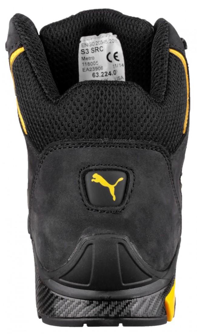 fc8e50bf3e3 Puma Amsterdam Mid Mens Safety Work Boot Brix Workwear