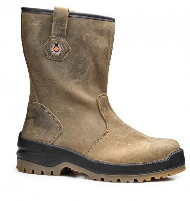 1861547352d Base BO720 Mammuth S3 HRO Mens Platinum Lined Safety Rigger Boot ...