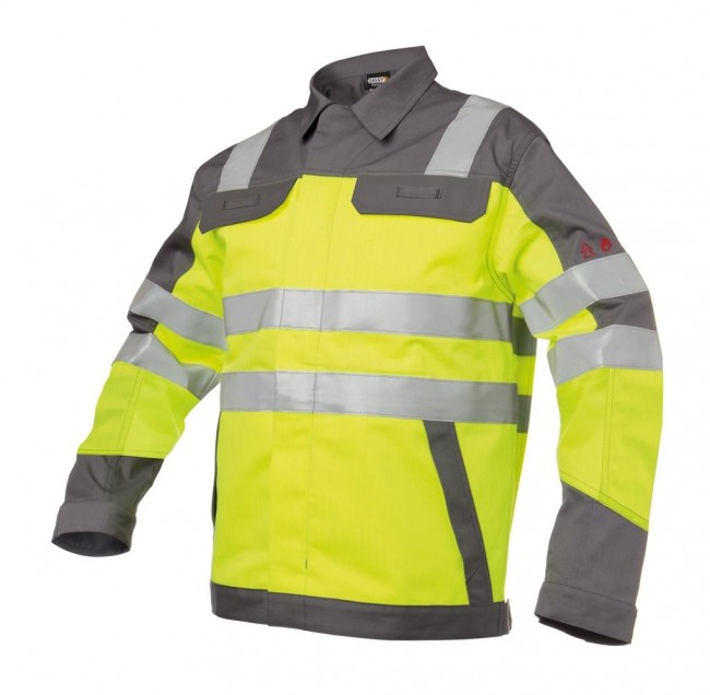 ee619c0f FRANKLIN_Two-tone-multinorm-high-visibility-work-jacket_Grey-Yellow_SIDE.