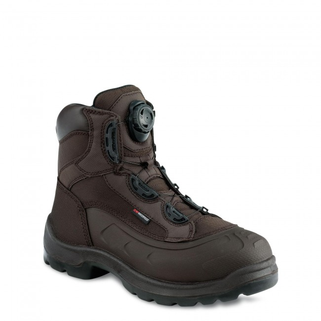 6de93e688d1 Red Wing 3231 Mens 6 Inch Waterproof Non Metalic Safety Boot Brix ...