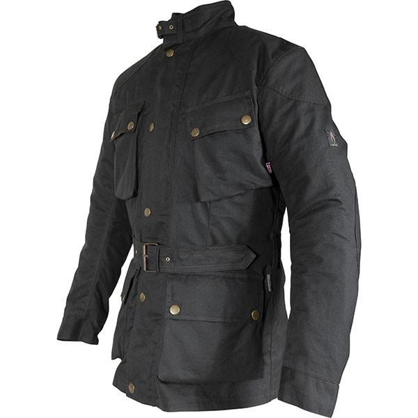 BLACK Richa BONNEVILLE Mens Wax Motorcycle Jacket ALL SIZES