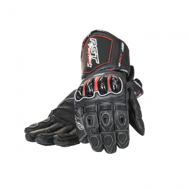 RST Tractech Evo Ce 2579 black motorcycle sports gloves