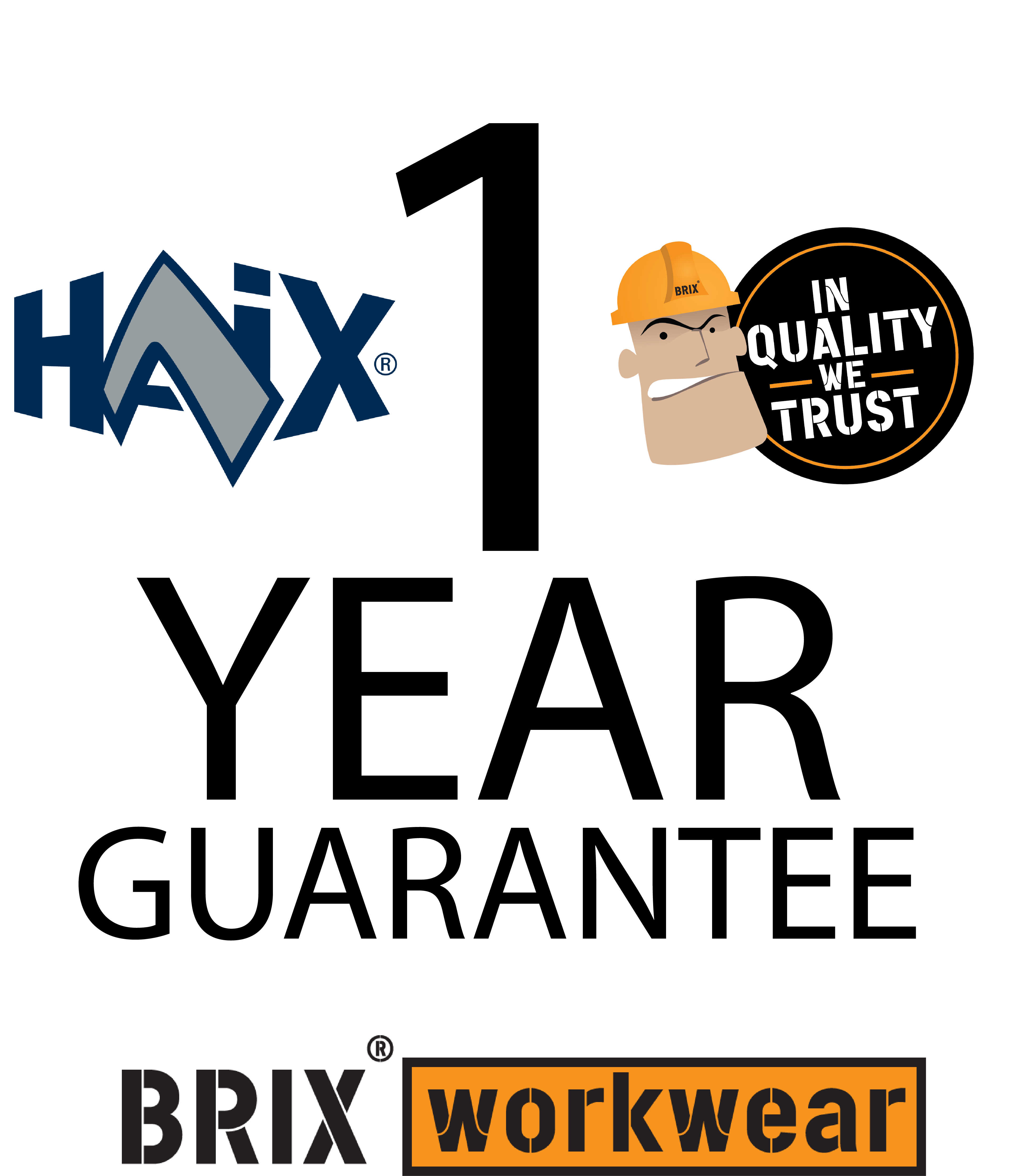 Haix 2 year guarantee